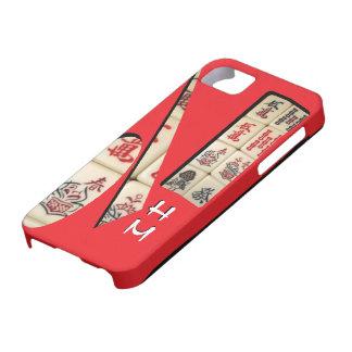 5/5s monogram Mahjong pattern iPhone SE/5/5s Case