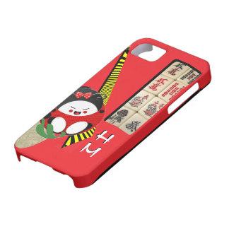 5/5s monogram oriental fun iPhone SE/5/5s case
