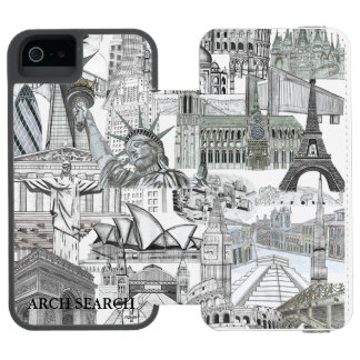 5/5s Mural Arch Search marries iPhone iPhone SE/5/5s Wallet Case