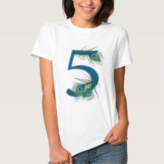 5 / 5th / 5th Anniversary / number 5 Shirt