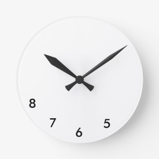 5, 6, 7, 8 Wall Clock for Dancers