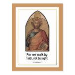 5:7 cristiano de los Corinthians del ~ II del Postal