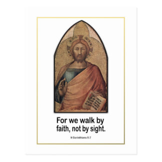 5 7 cristiano de los Corinthians del II del vers Tarjetas Postales