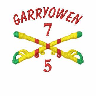 5/7o Cav. 1r Cav. Rifles y camisa cruzados Div UH1