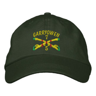 5 7th Cavalry Crossed Sabers Embroidered Hat Embroidered Hat