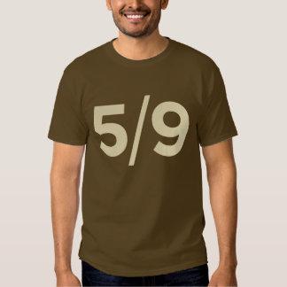 5/9 camiseta del equipo de radio-aficionado playeras