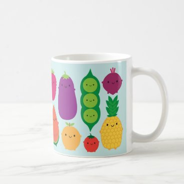 askingfortrouble 5 A Day Fruit & Vegetables Coffee Mug
