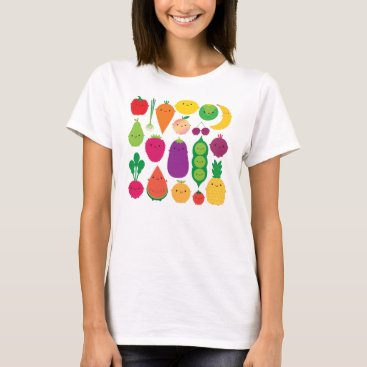 askingfortrouble 5 A Day Fruit & Vegetables T-Shirt