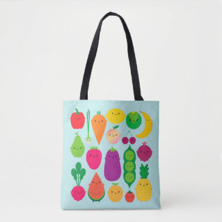 5 A Day Fruit & Vegetables Tote Bag