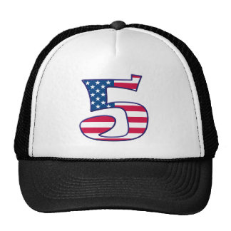 5 Age USA Trucker Hat