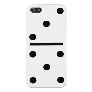 5 and 3 Domino Design case Case Savvy iPhone 5