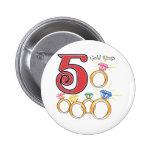 5 anillos de oro pins