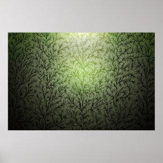 5 árboles póster