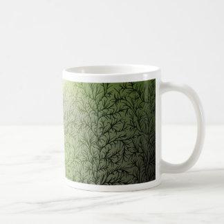 5 árboles taza básica blanca