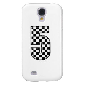 5 auto racing number galaxy s4 case