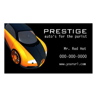 5 Automotive Industry business card