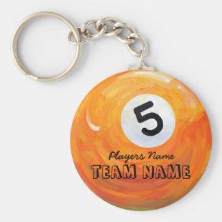 5 Ball Keychain