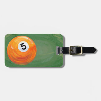 5 Ball Luggage Tag