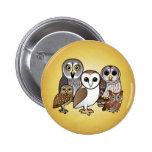 5 Birdorable Owls 2 Inch Round Button