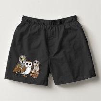 5 Birdorable Owls Boxers