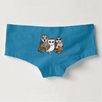 5 Birdorable Owls Boyshorts
