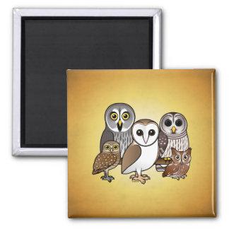 5 Birdorable Owls Magnet