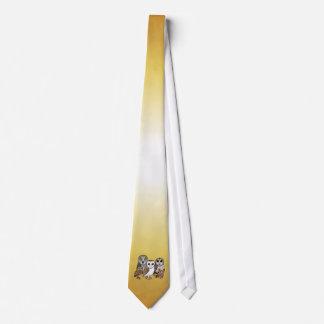 5 Birdorable Owls Neck Tie