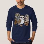 5 Birdorable Owls T-Shirt