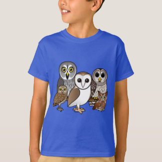 5 Birdorable Owls T-Shirt