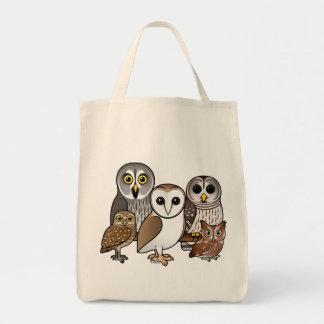 5 Birdorable Owls Tote Bag