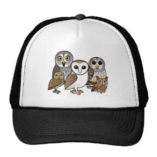 5 Birdorable Owls Trucker Hat