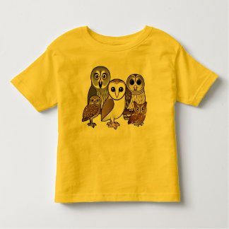 5 Birdorable Owls Tees