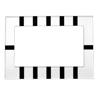 5 bisecó líneas negras marcos magneticos
