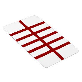 5 bisecó líneas rojas iman