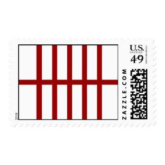 5 bisecó líneas rojas sellos