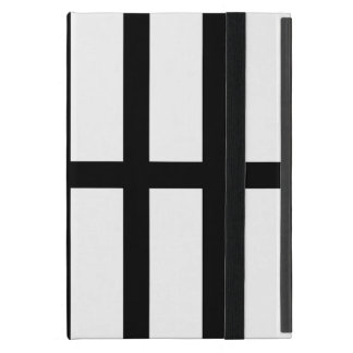 5 Bisected Black Lines Covers For iPad Mini