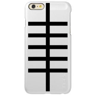 5 Bisected Black Lines Incipio Feather® Shine iPhone 6 Plus Case