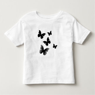 5 Black Butterflies Toddler T-shirt
