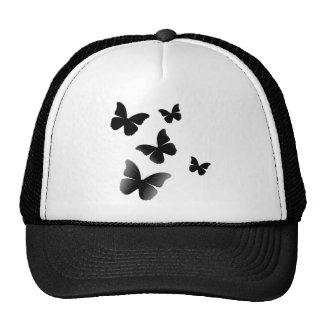 5 Black Butterflies Trucker Hat