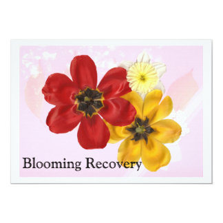 5 Blooming Recovery Card