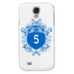 #5 Blue Shield Galaxy S4 Case