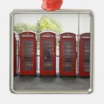 5 cabinas de teléfonos en Londres Ornamente De Reyes