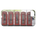 5 cabinas de teléfonos en Londres Funda Para iPhone SE/5/5s