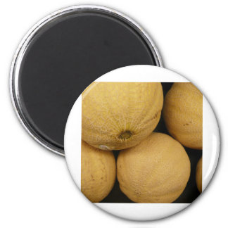 5 Cantelope 2 Inch Round Magnet