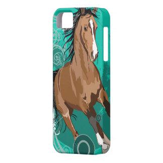 5 caso juguetón de sensación de la identificación  iPhone 5 Case-Mate cobertura