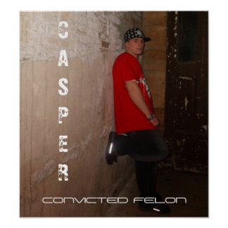 5, CASPER, CRIMINAL CONDENADO POSTER