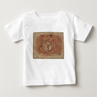 5-Cent Fractional Currency Baby T-Shirt