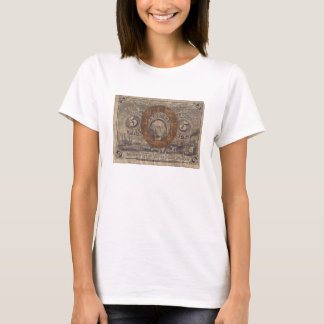 5-Cent Fractional Currency T-Shirt