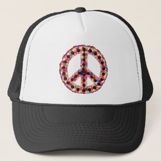 5-Color Jagged Peace Apparel Trucker Hat