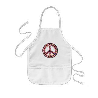 5-color peace apron